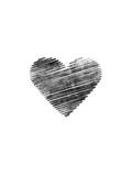 Scribble Heart Prints