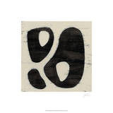 Hieroglyph IX Reproduction giclée Premium par June Erica Vess