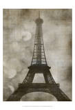 Vintage Eiffel I Prints by Honey Malek