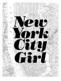 New York City Girl Prints by Brett Wilson