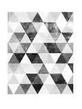 Polygon Pattern Posters par Brett Wilson