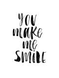 You Make Me Smile Poster