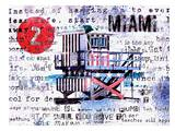 Miami Posters by Marion Duschletta