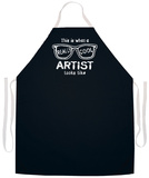 Really Cool Artist Apron Forkle