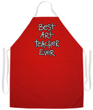 Art Teacher Apron Forkle