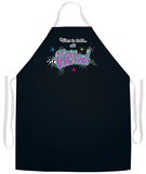 Add Glitter Apron Forkle