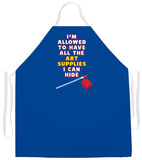 Art Supplies Apron Forkle