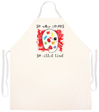So Many Colors Apron Forkle