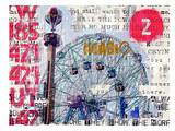 Wonder Wheel Magic Prints by Marion Duschletta