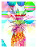 Pineapple Pink, Urban Road Prints