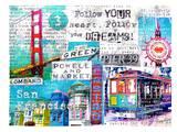 SanFrancisco Collage 2 Art by Marion Duschletta