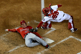 Los Angeles Angels of Anaheim v Washington Nationals Photographic Print by Patrick Smith