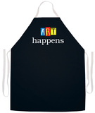 Art Happens Apron Forkle