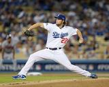 National League Division Series Game 4: Atlanta Braves V. Los Angeles Dodgers Photo af Rob Leiter
