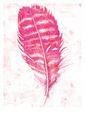 Pink Feather, Urban Road Posters