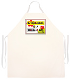 Scrapbooking Art Apron Forkle