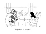 """People think I'm bossy, too."" - New Yorker Cartoon Premium Giclee Print by Dan Roe"
