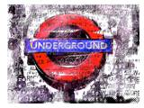 London Under ground Art by Marion Duschletta