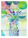 Pineapple Blue, Urban Road Prints