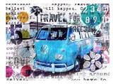 VW Pacific Prints by Marion Duschletta