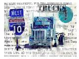 Truck 1 Posters by Marion Duschletta