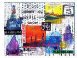 Hamburg Collage2 Art by Marion Duschletta