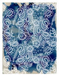 Lace Cobalt, Urban Road Prints