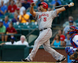 Los Angeles Angels of Anaheim v Texas Rangers Photo af Tom Pennington