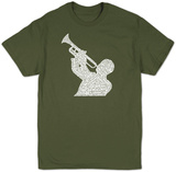 Great Jazz Songs T-shirts