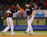 Miami Marlins v Los Angeles Angels of Anaheim Photo by Jeff Gross