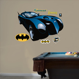Batmobile - Comic Art Wall Decal