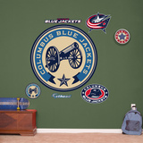 Columbus Blue Jackets Alternate Logo Wall Decal