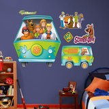 Scooby-Doo Mystery Machine Render Wall Decal