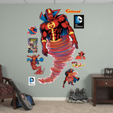 Red Tornado Wall Decal