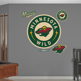 Minnesota Wild Alternate Logo Wall Decal