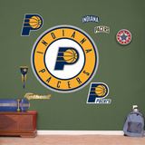 Indiana Pacers Alternate Logo Wall Decal