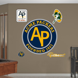 Green Bay Packers Classic Logo (Acme Packers) Wall Decal