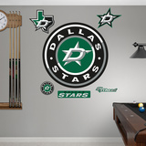 Dallas Stars Alternate Logo Wall Decal