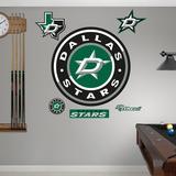 Dallas Stars Alternate Logo Wall Decal
