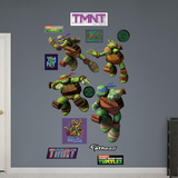 TMNT - Turtle Power Collection Wall Decal