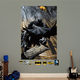 Batman Shadows Comic Art Mural Wall Mural