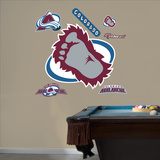 Colorado Avalanche Alternate Logo Wall Decal