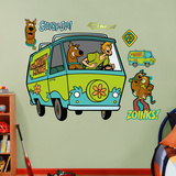 Scooby-Doo and Shaggy Mystery Machine Wall Decal