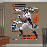 Emmanuel Sanders Wall Decal