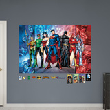 Justice League Mural Wall Mural
