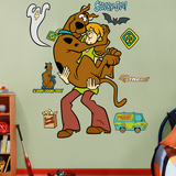 Scooby-Doo and Shaggy Wall Decal