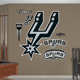 San Antonio Spurs Alternate Logo Wall Decal