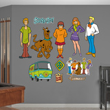 Scooby-Doo Collection Wall Decal