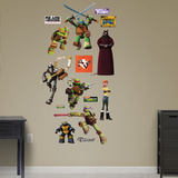 TMNT - Heroes Collection Wall Decal