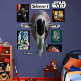 Star Wars: Slave I Wall Decal